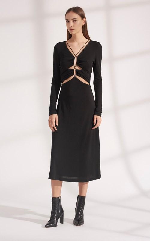 Dresses   VISCOSE JERSEY CONNECT DRESS