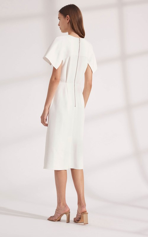 Dresses | CONCAVE CREPE DRESS