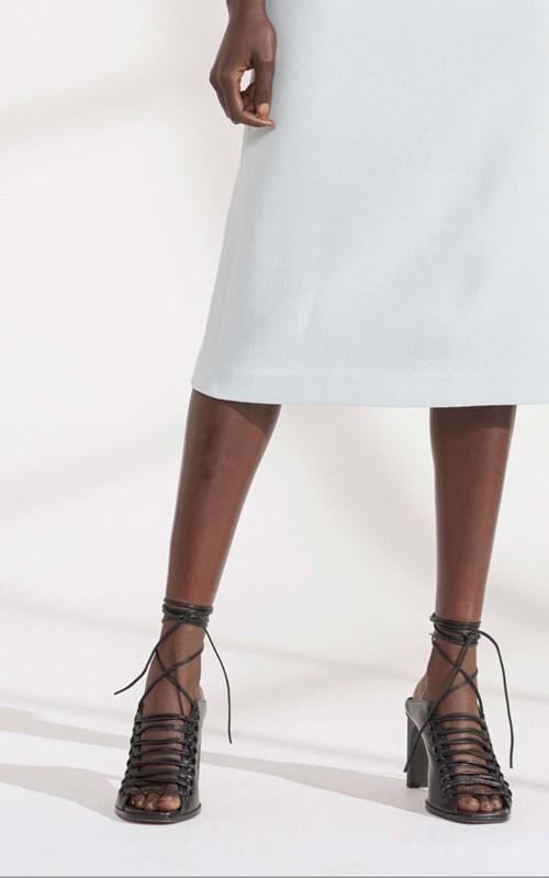 Dresses   CONCAVE CREPE DRESS