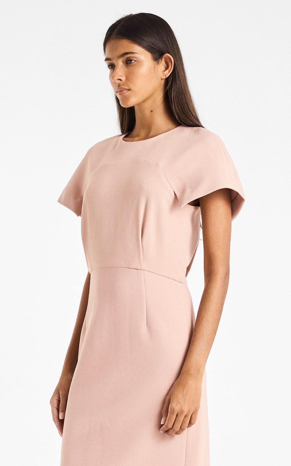 Dresses | CONCAVE CREPE DRESS