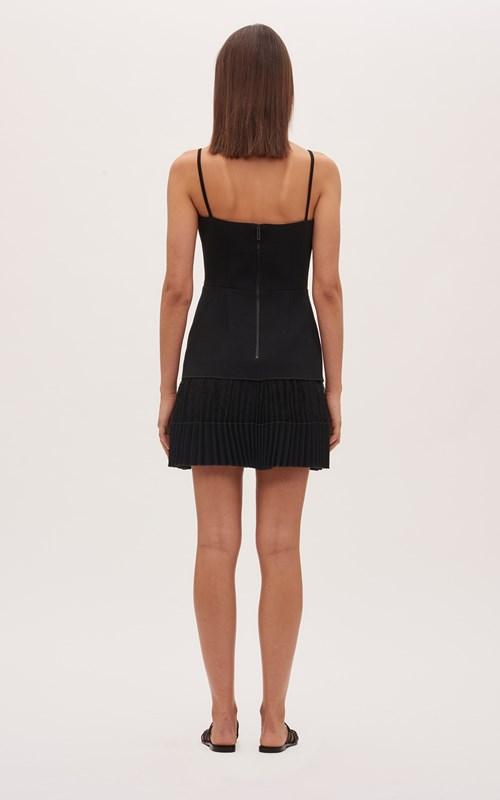Dresses | VEIN LACE PLEAT MINI DRESS