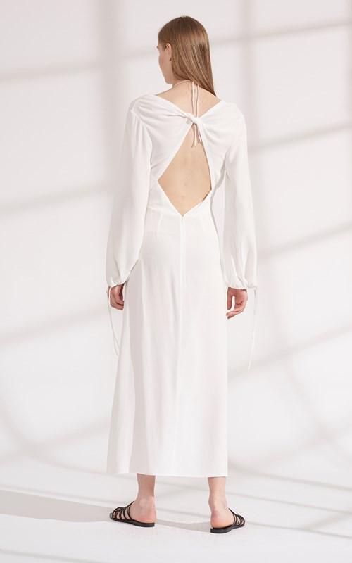 Dresses | TWIST PLACKET LONG SLEEVE DRESS