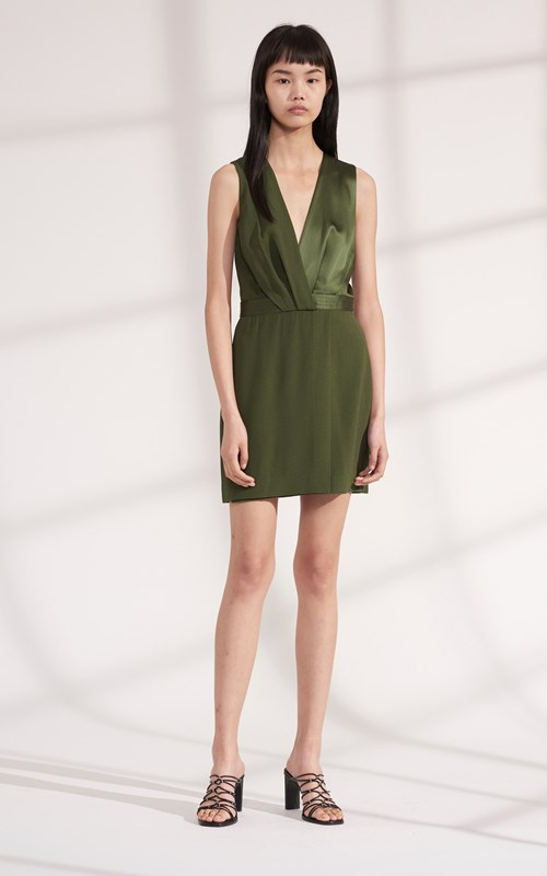 Dresses   PIVOT DRAPE MINI DRESS