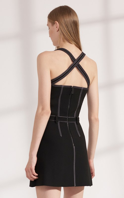 Dresses | STITCH TUCK MINI DRESS