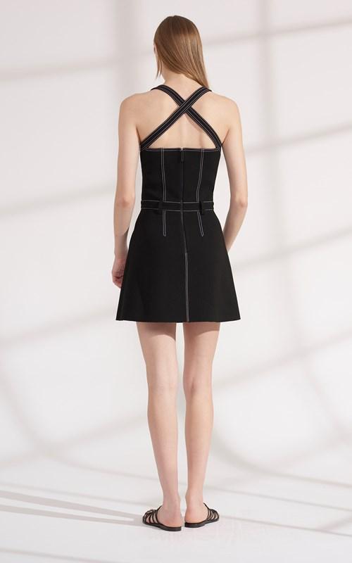 Dresses   STITCH TUCK MINI DRESS