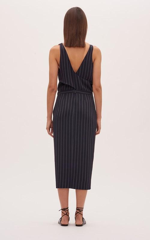 Dresses | PINSTRIPE UTILITY DRESS