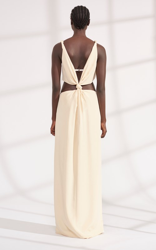 Dresses   LOOP KNOT GOWN