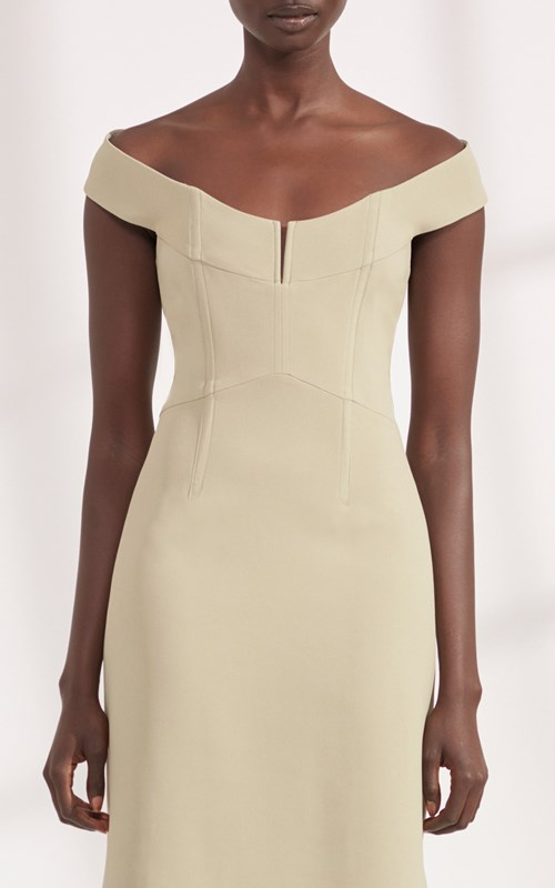 Dresses  | CADY WIRE PENCIL BUSTIER DRESS