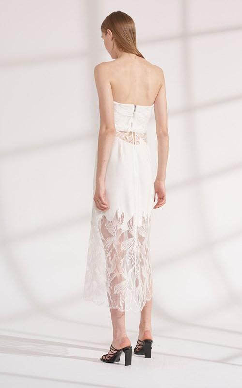 Dresses | LACE APPLIQUE SUSPENDED DRESS