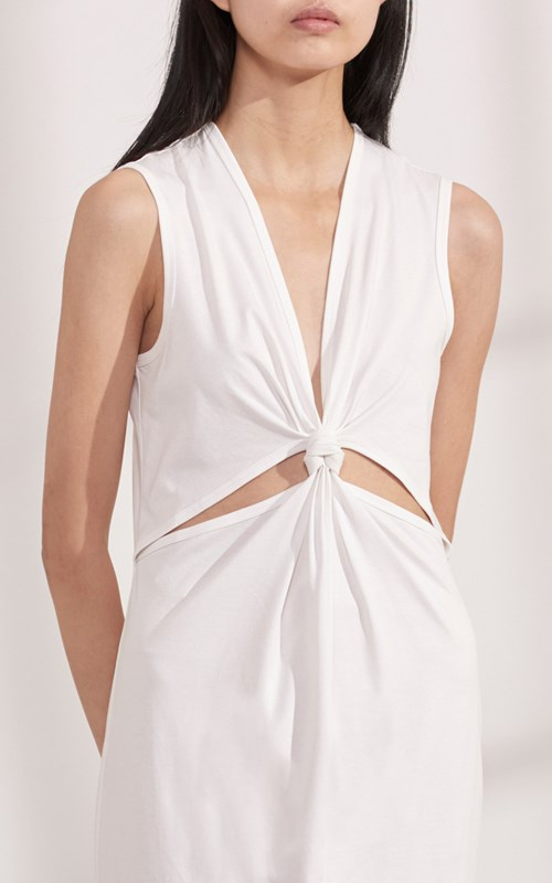 Dresses  | LOOP KNOT JERSEY TANK DRESS