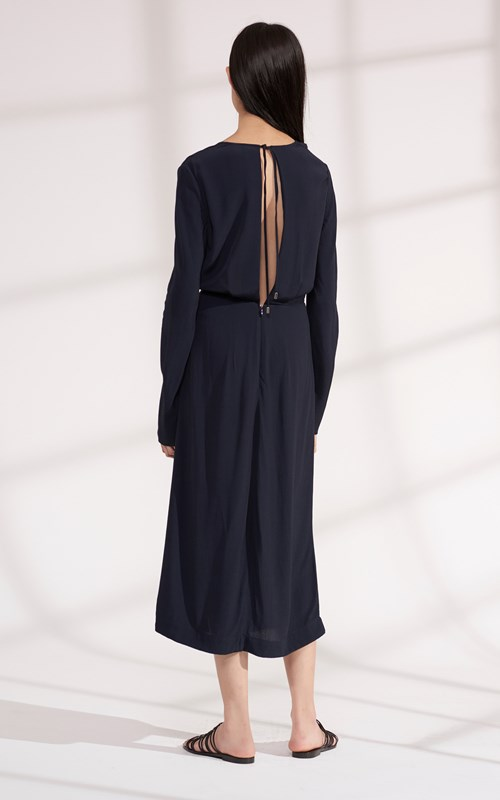 Dresses | LOOP KNOT LONG SLEEVE DRESS