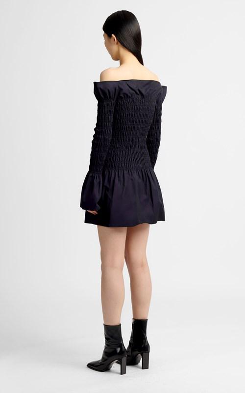 Dresses | SHIRRED MINI DRESS
