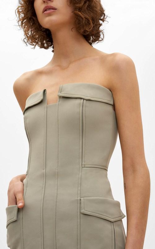 Dresses  | POCKET BUSTIER DRESS