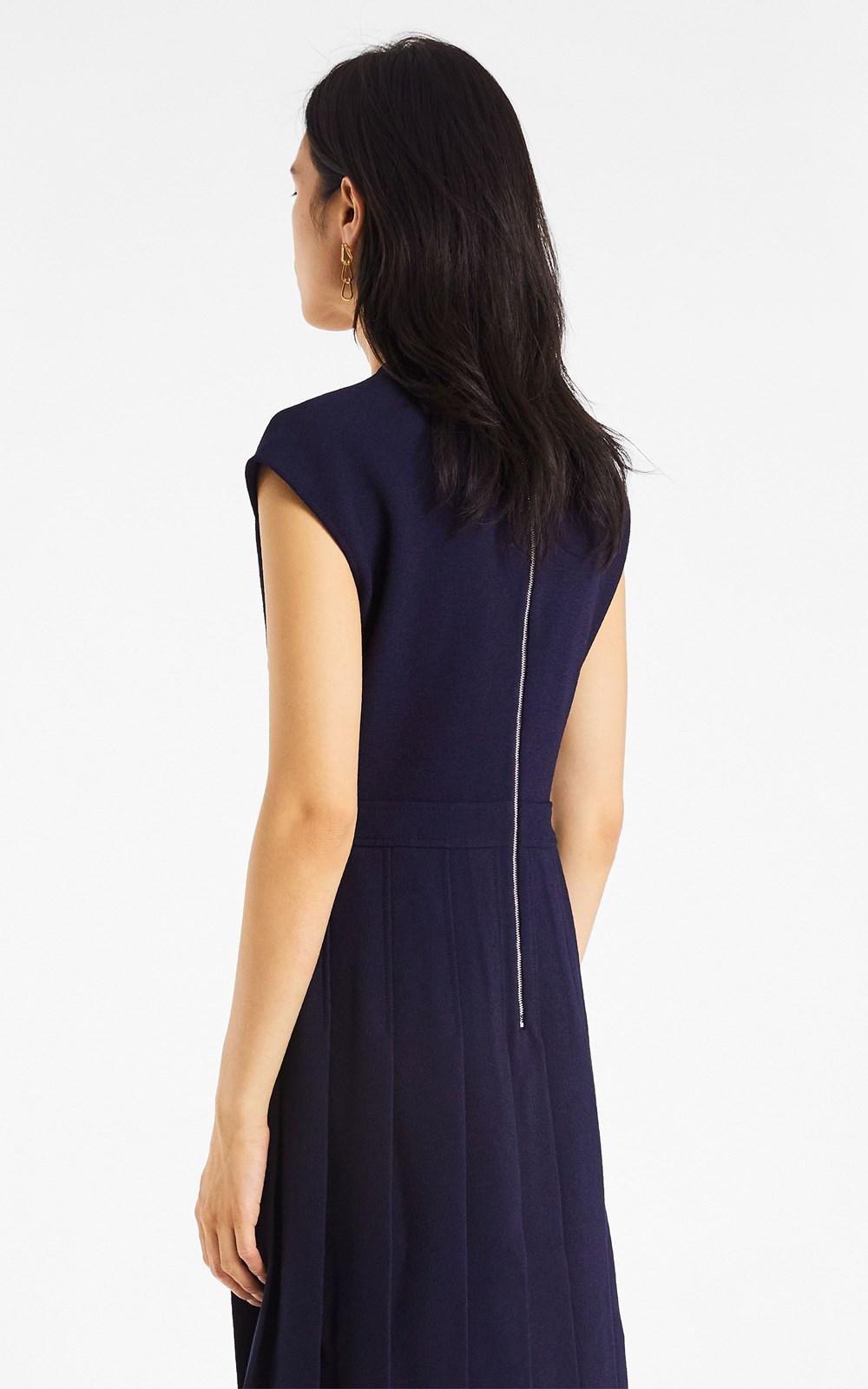 Dresses | COLUMN PLEAT MIDI DRESS