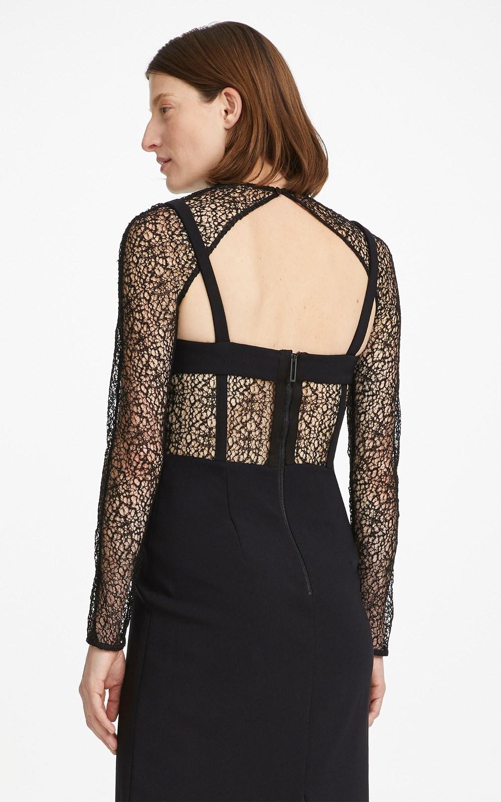 Dresses | CONTOUR CORSET LONGSLEEVE DRESS
