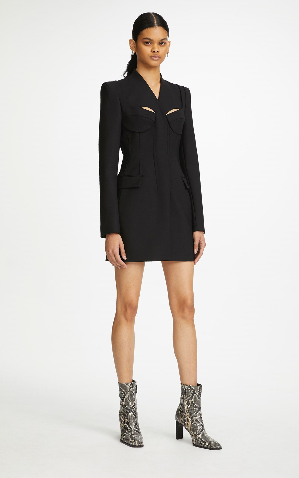 New  | TAILORED BRA BLAZER DRESS