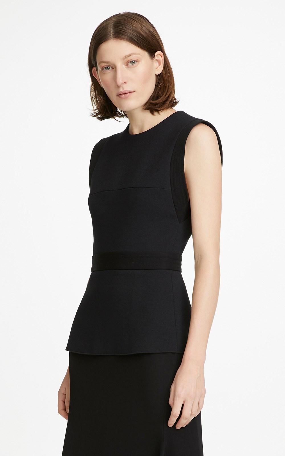 Dresses | BELTED STITCH DRAPE DRESS