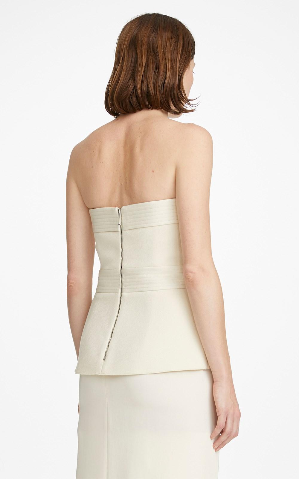 Dresses | BELTED STITCH STRAPLESS DRESS