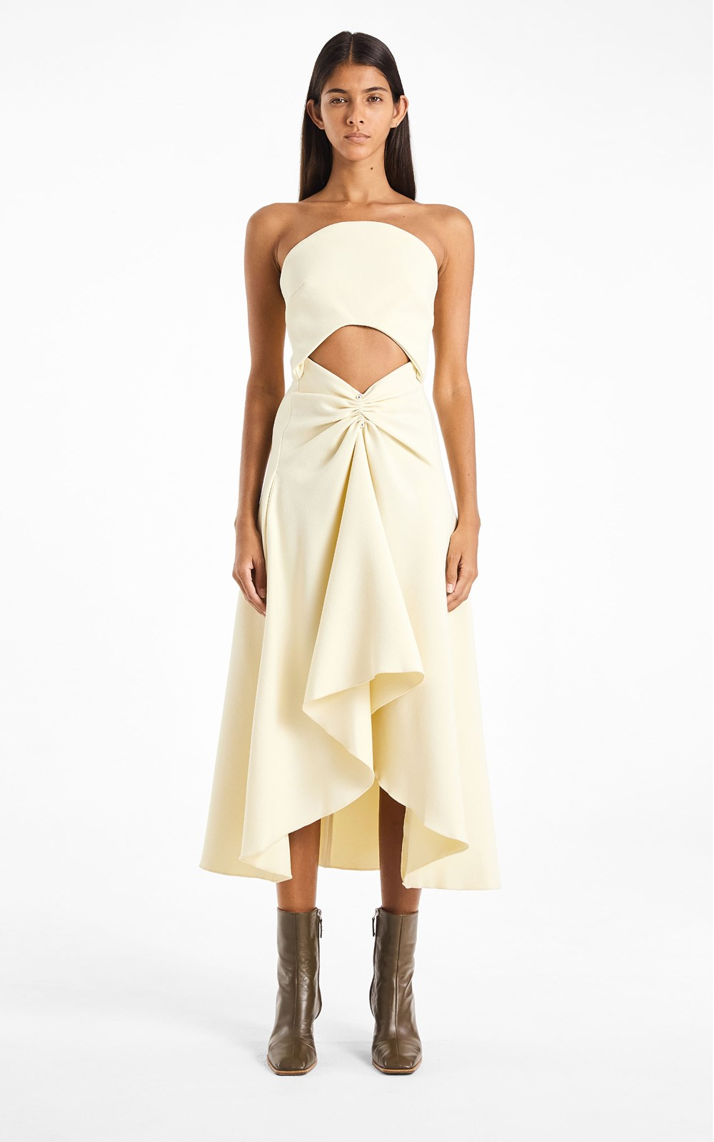 PIERCED CREPE CONCAVE DRESS by Dion Lee, available on dionlee.com for AUD1490 Kylie Jenner Dress SIMILAR PRODUCT
