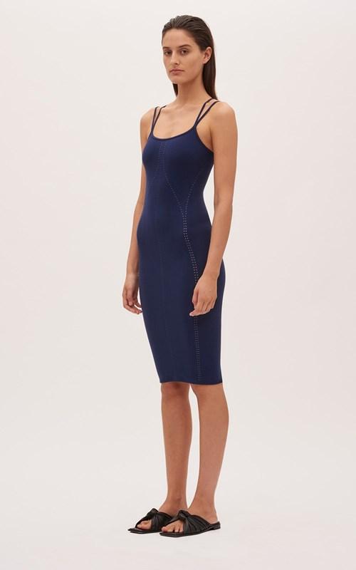 Dresses   SEAMLESS MESH CONTRAST DRESS