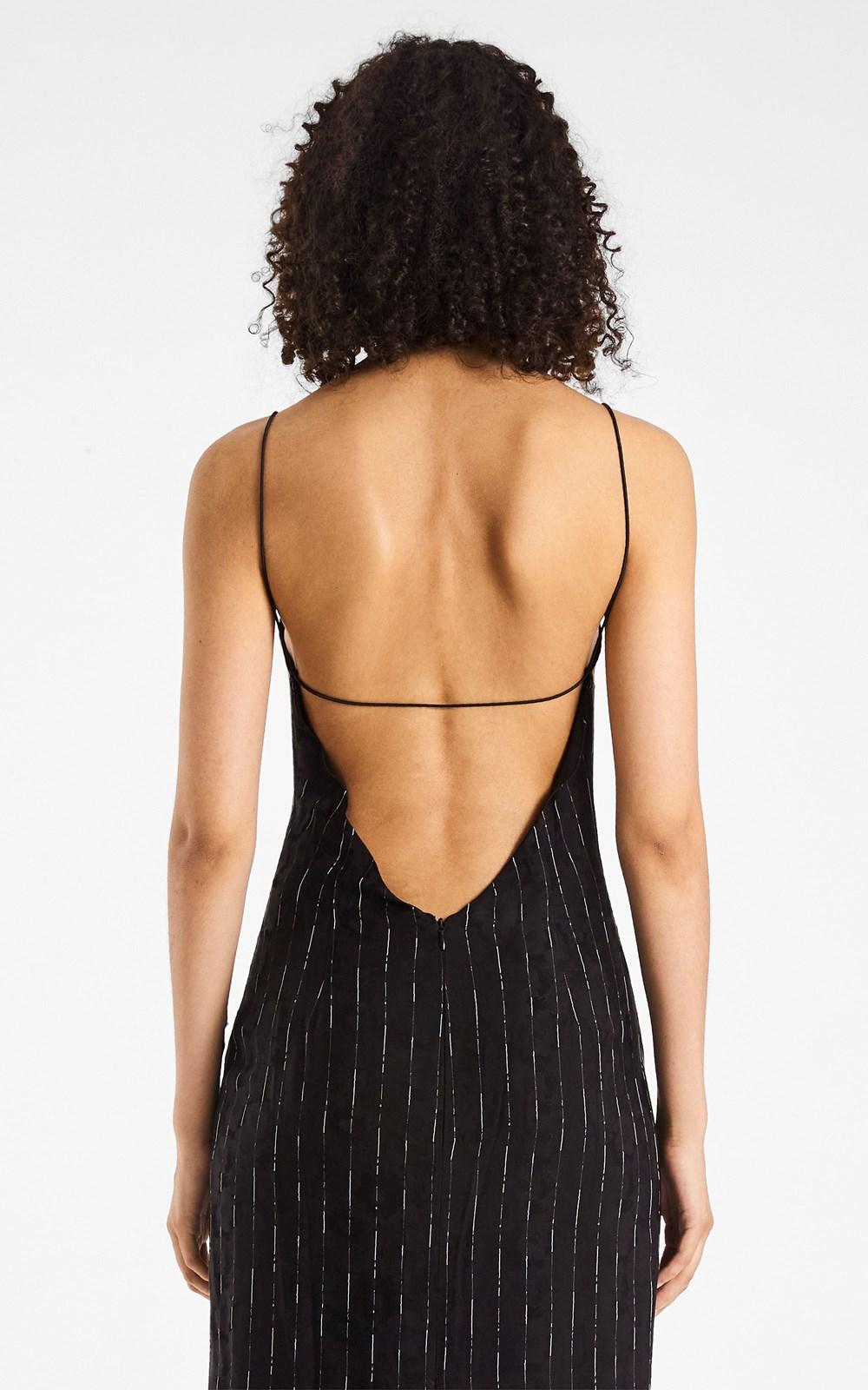 Dresses | PINSTRIPE SLIP DRESS