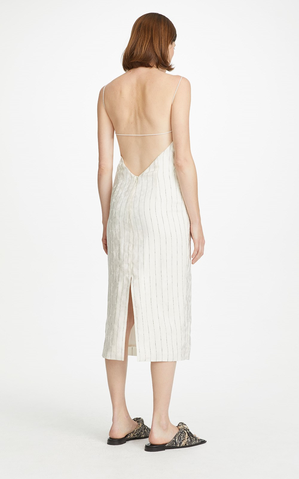 Dresses | PINSTRIPE SLIP DRESS