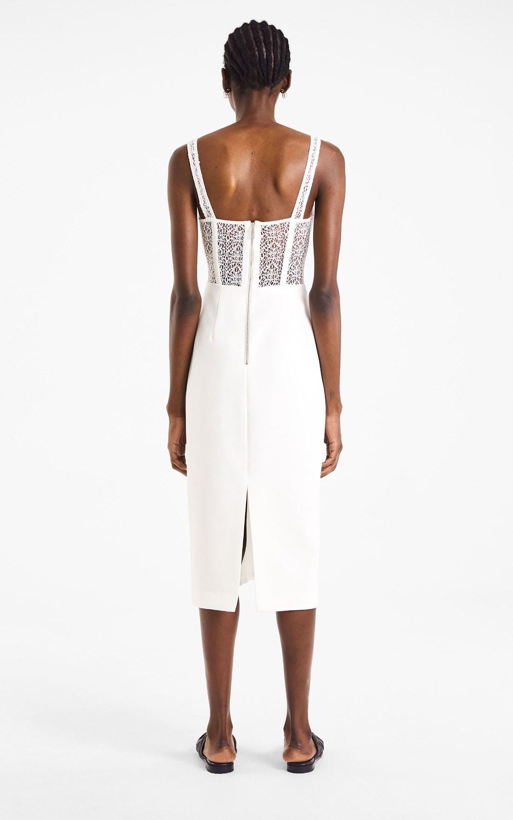 Dresses | CORDED LACE CORSET DRESS