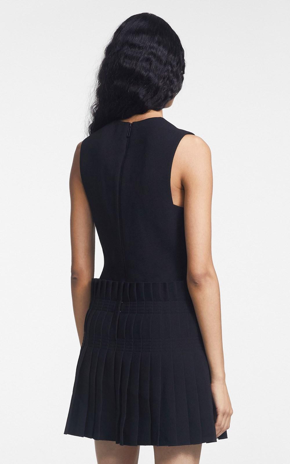 Dresses | STITCH PLEAT MINI DRESS