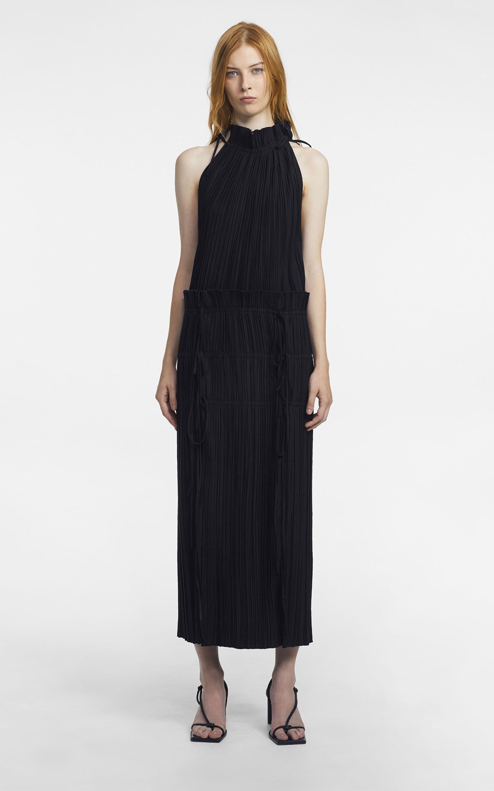 Dresses | CHANNEL PLEAT DRESS