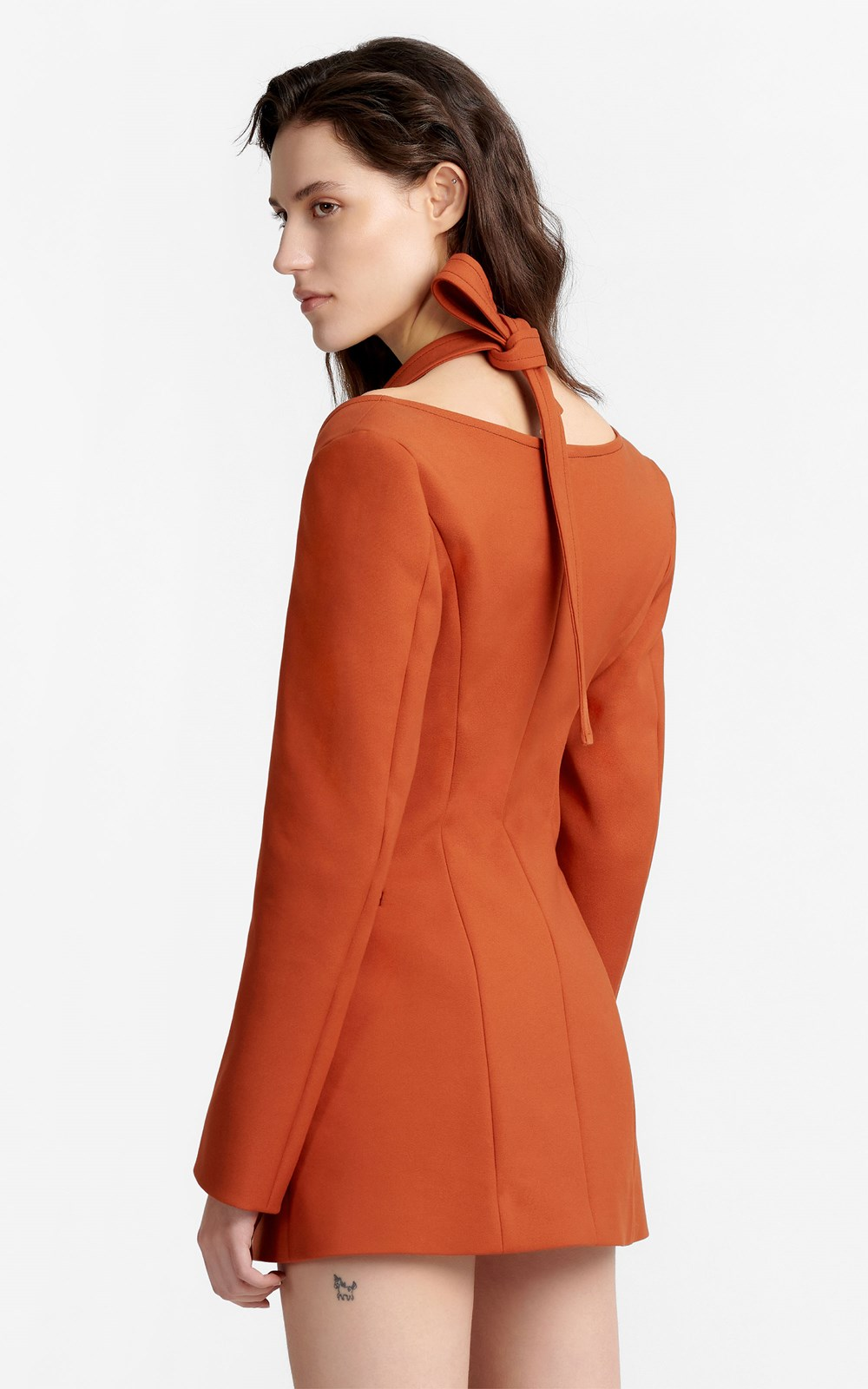 Dresses | HALTER TIE BLAZER DRESS