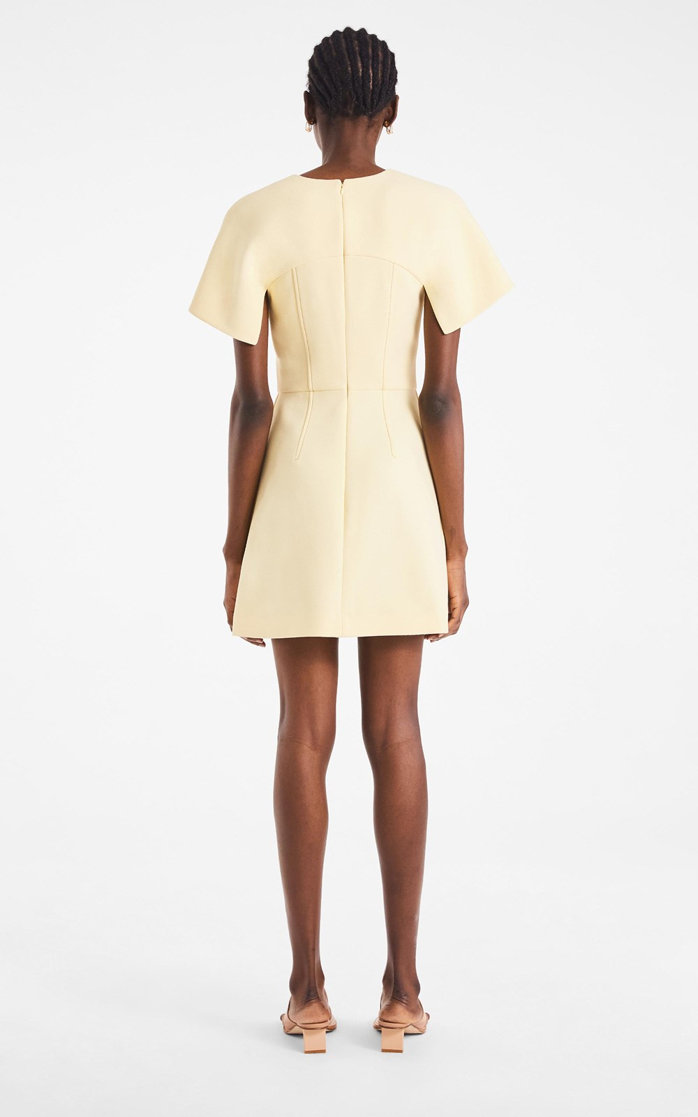 Dresses  | HOOK & EYE CREPE MINI DRESS