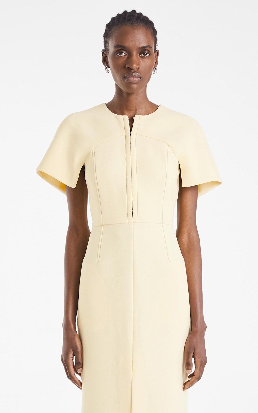 Dresses | HOOK & EYE CREPE SHIFT DRESS