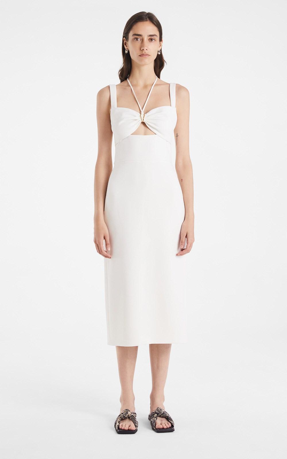 New  | SINGLE LINK CADY DRESS