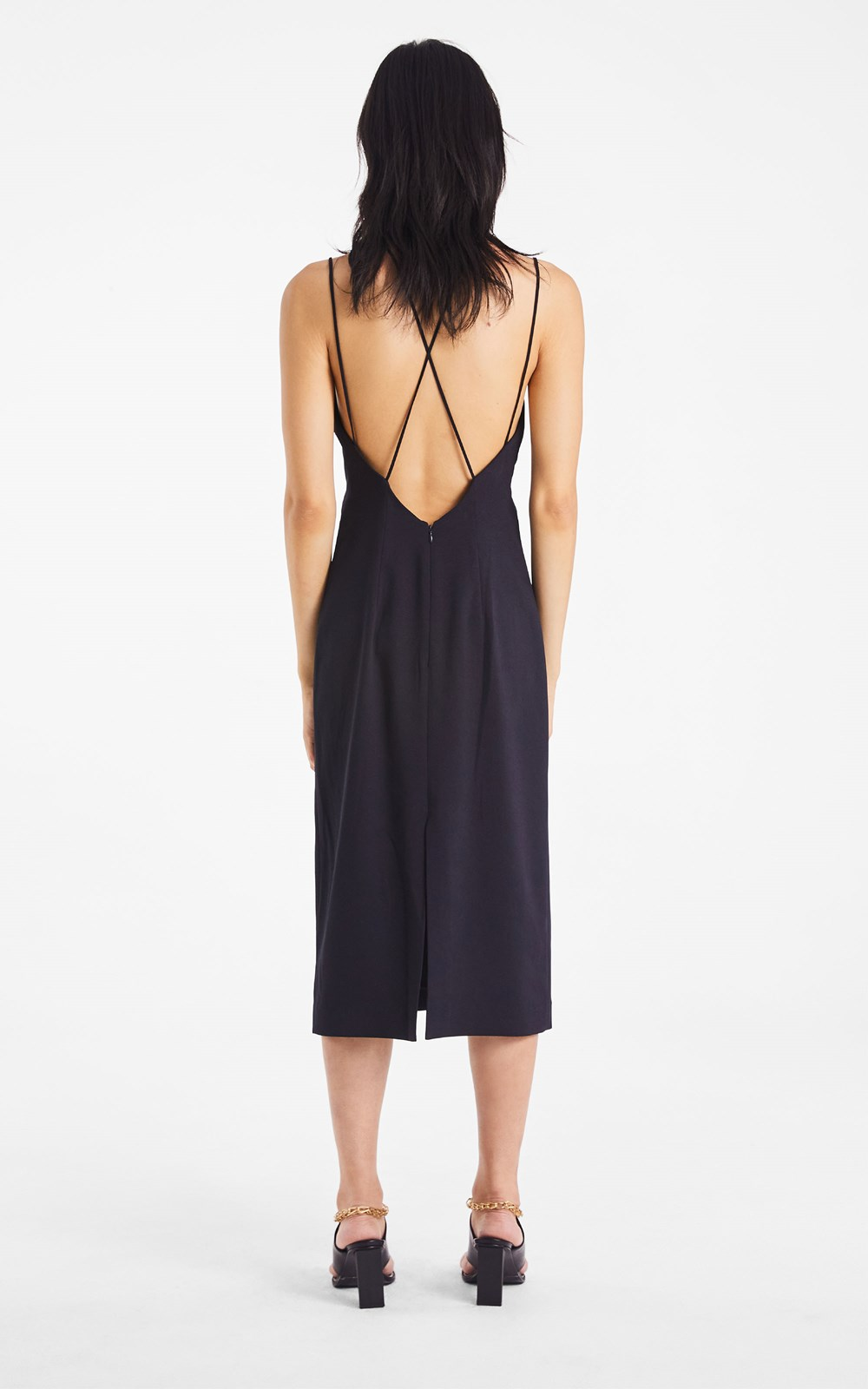 Dresses  | WHITEWASH LINK SLIP DRESS