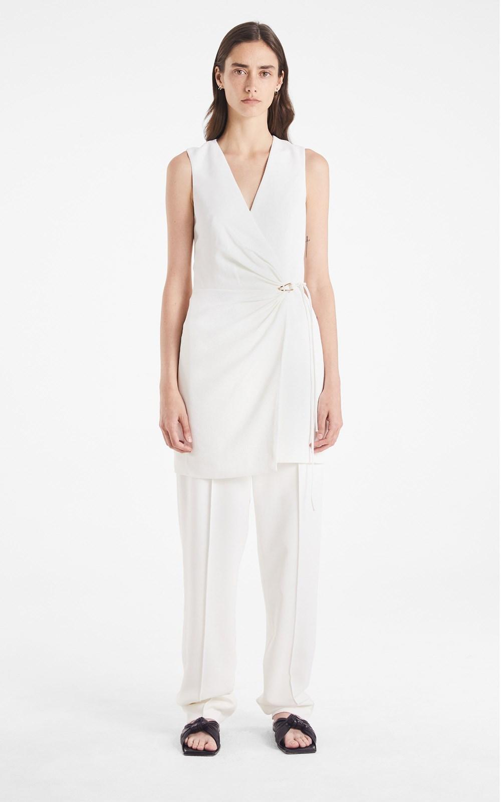 New  | WHITEWASH LINK MINI DRESS