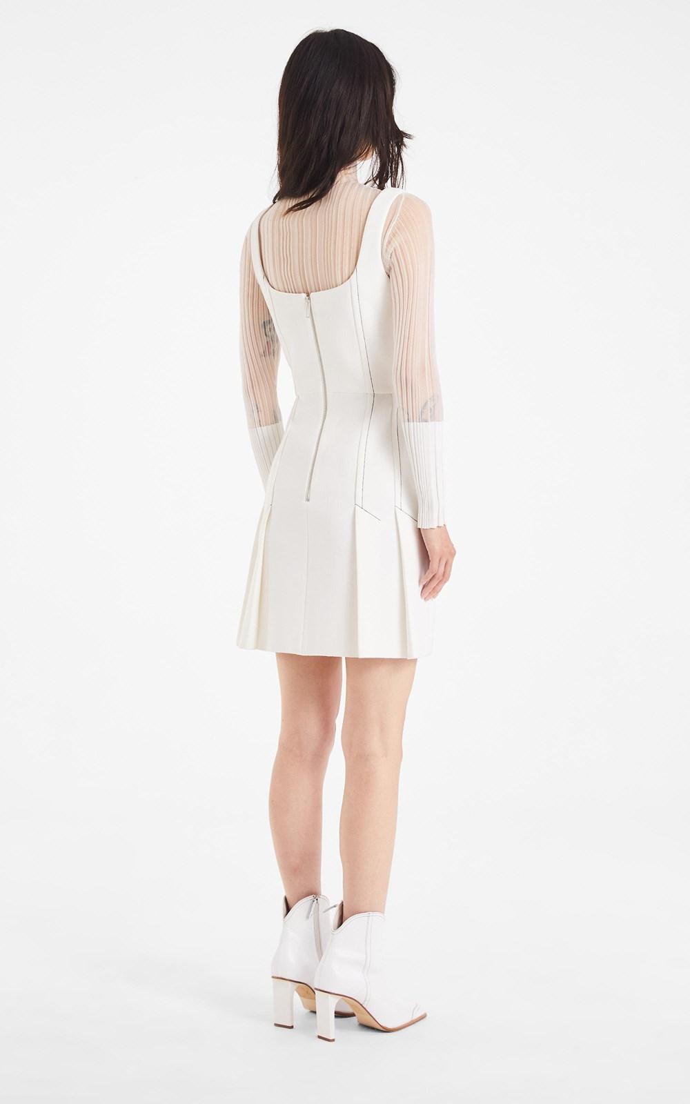 Dresses | CORSET PLEAT MINI DRESS