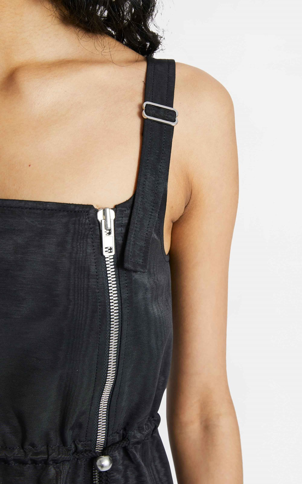 Dresses | ZIP BALLOON MINI DRESS