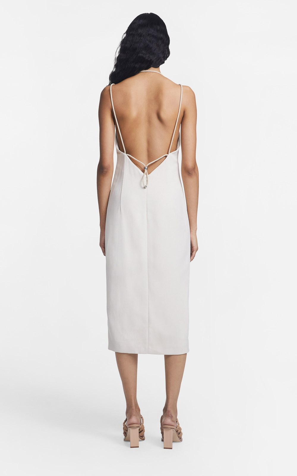 Dresses  | MACRAME SLIP DRESS