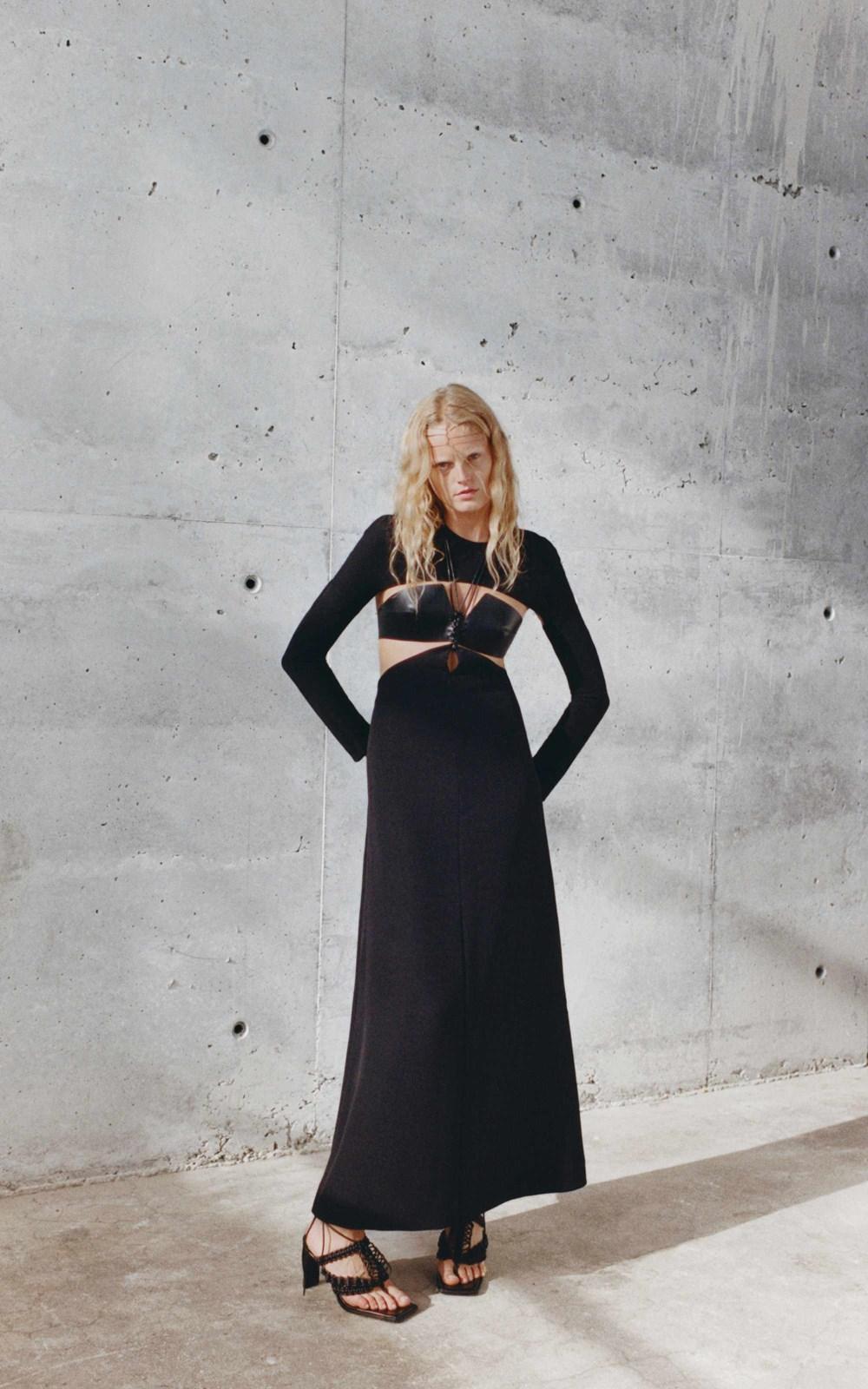Dresses | CADY MACRAME LS DRESS