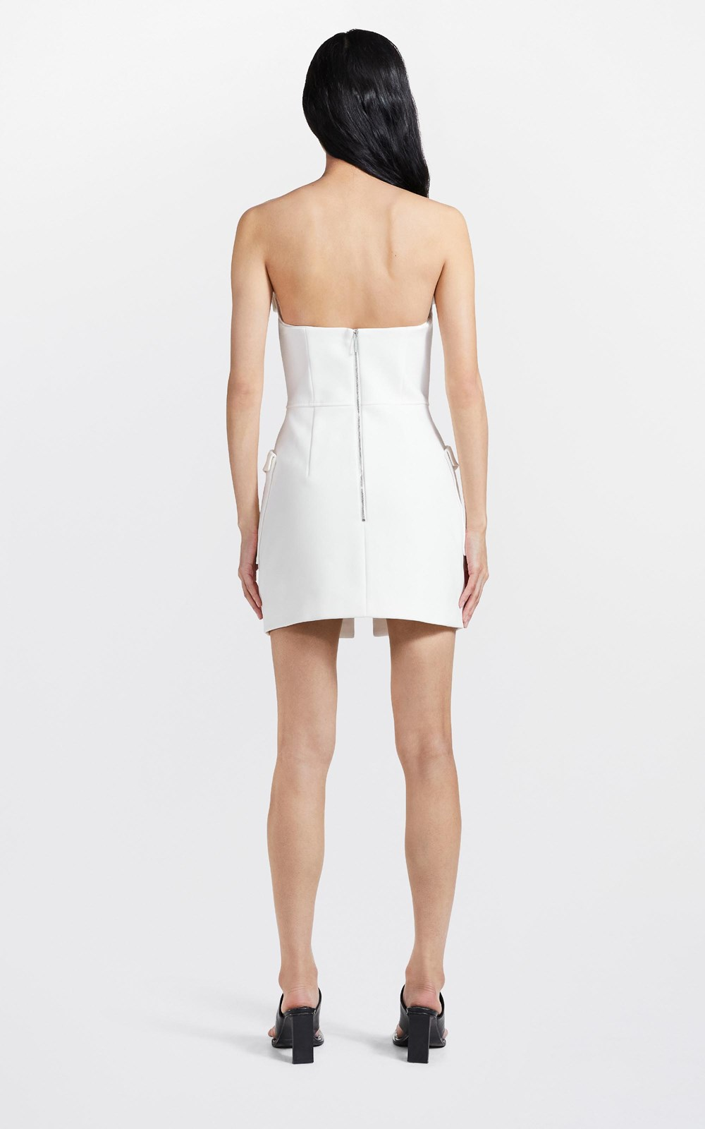 Dresses  | POCKET BUSTIER MINI DRESS