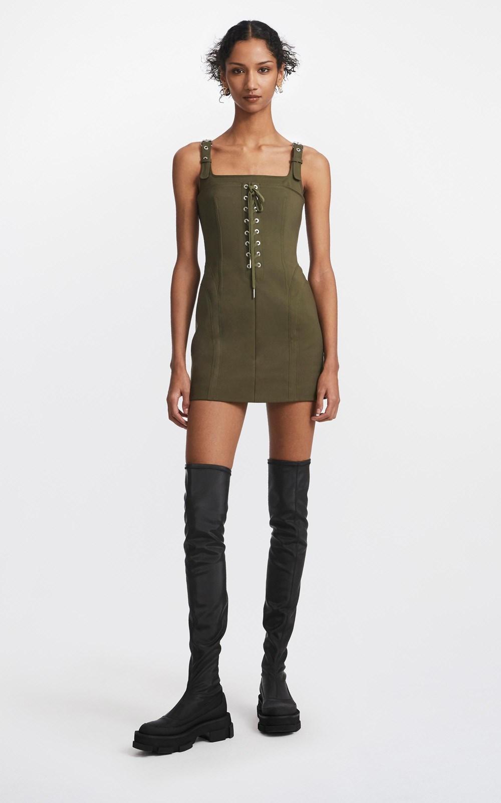 Dresses | CONTOUR STITCH MINI DRESS