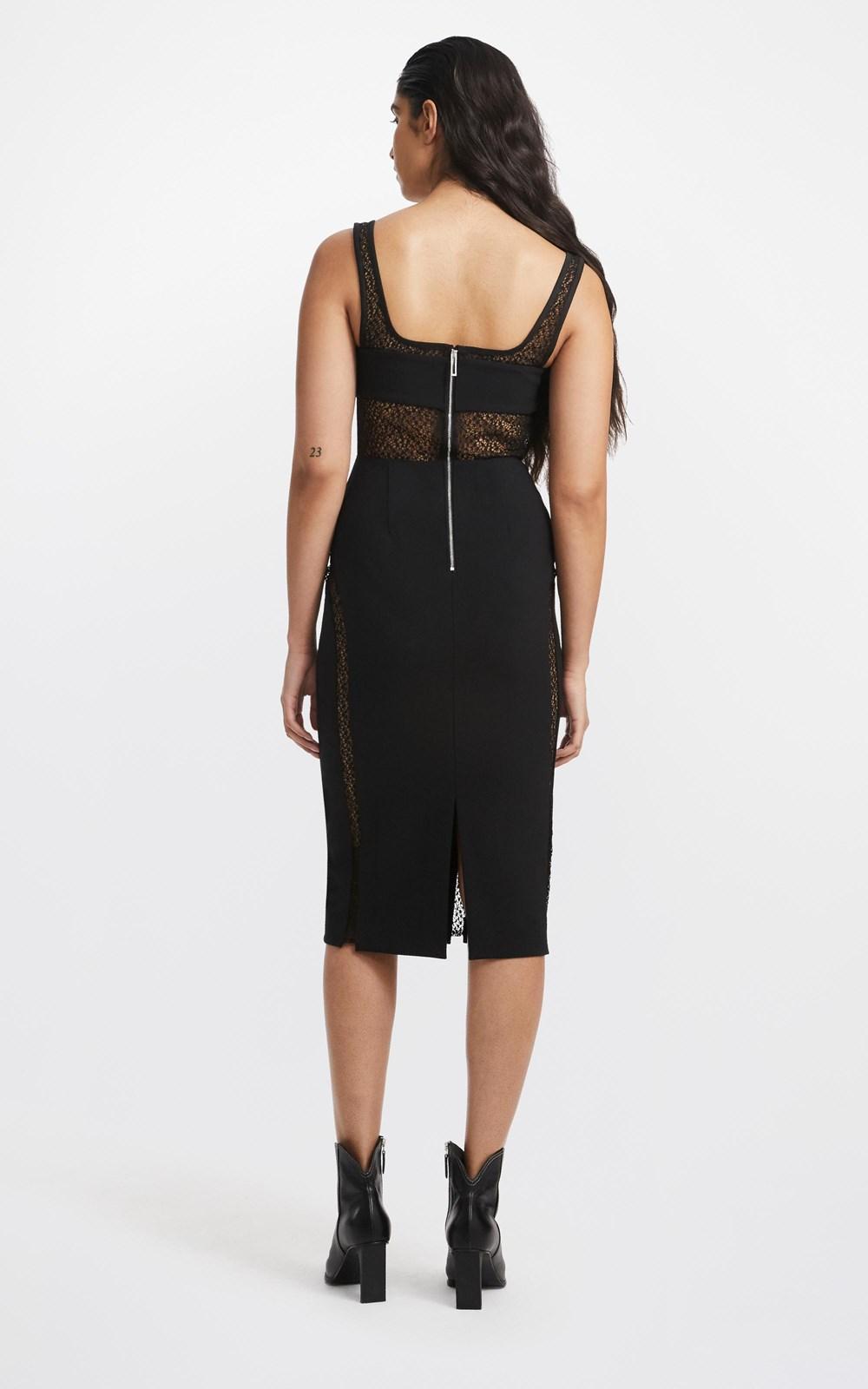 Dresses  | SUSPENDED CORSET DRESS
