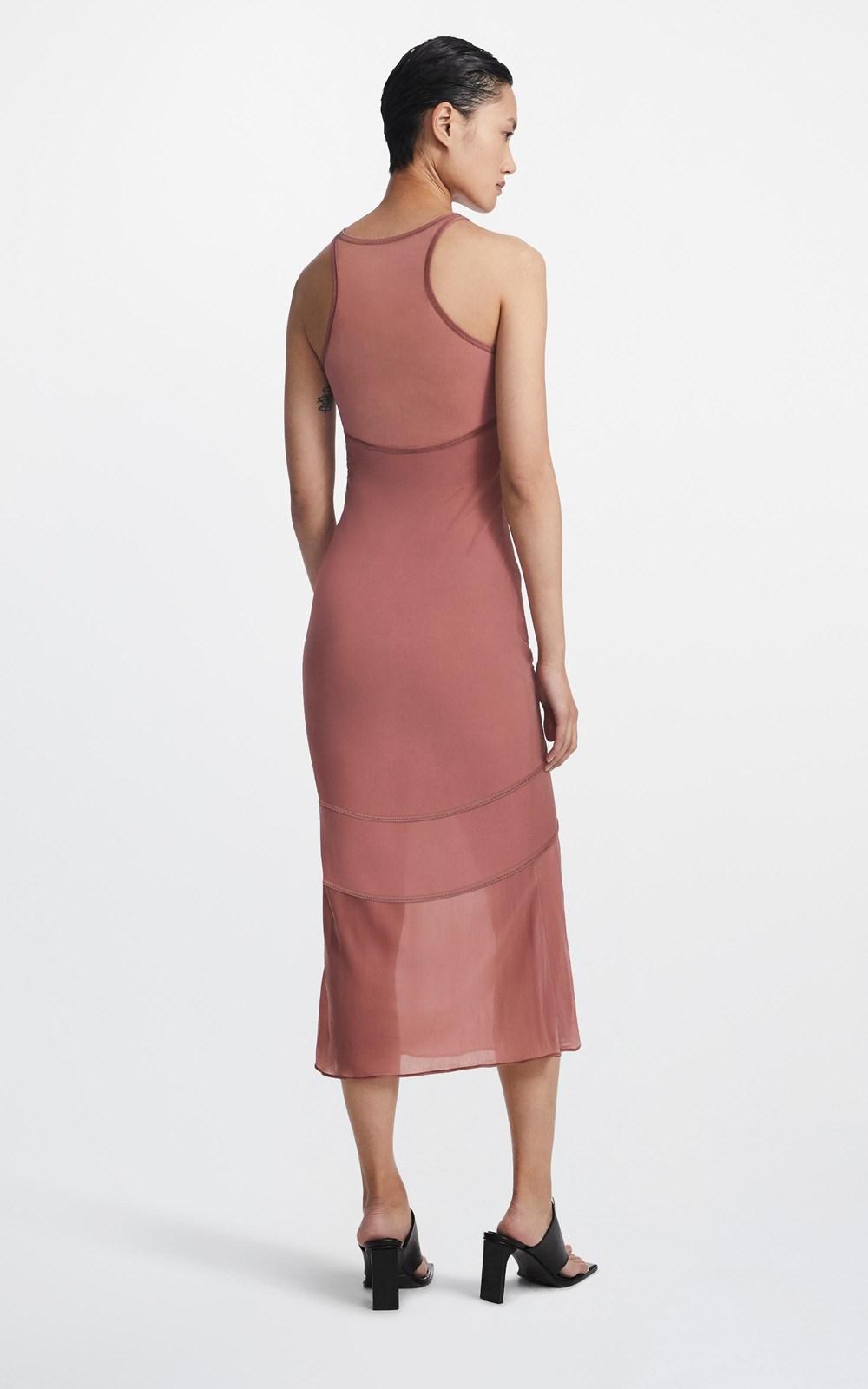 Dresses  | SHADOW OVERLAY DRESS