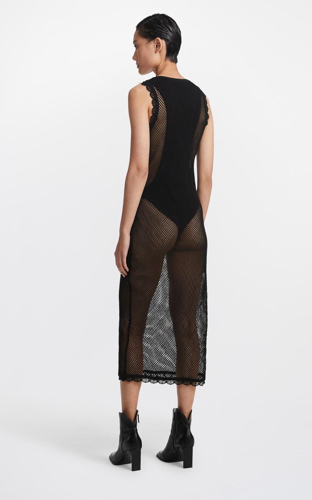 Dresses  | NET LAYERED DRESS