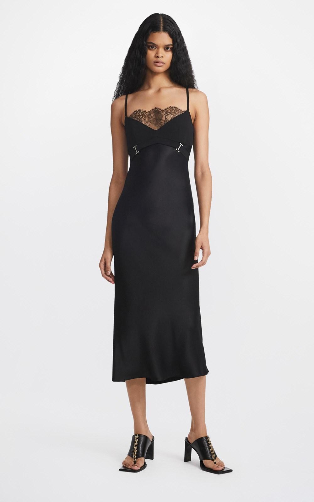 Dresses | LACE E-HOOK HARNESS SLIP DRESS
