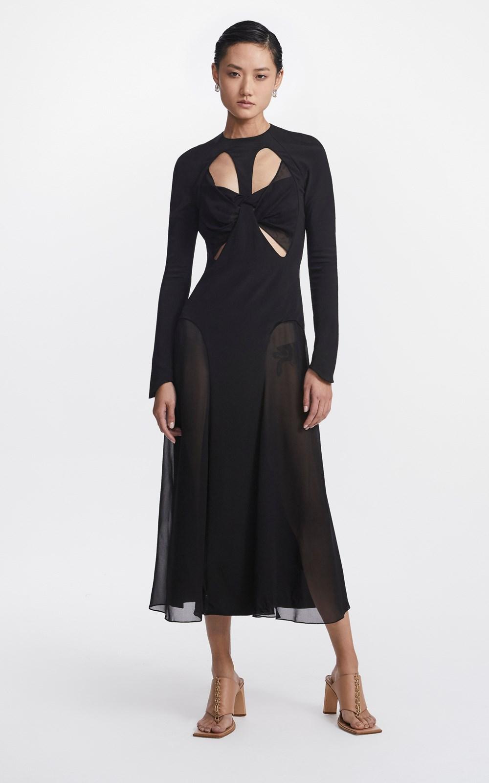 Dresses | SPLIT GODET DRESS