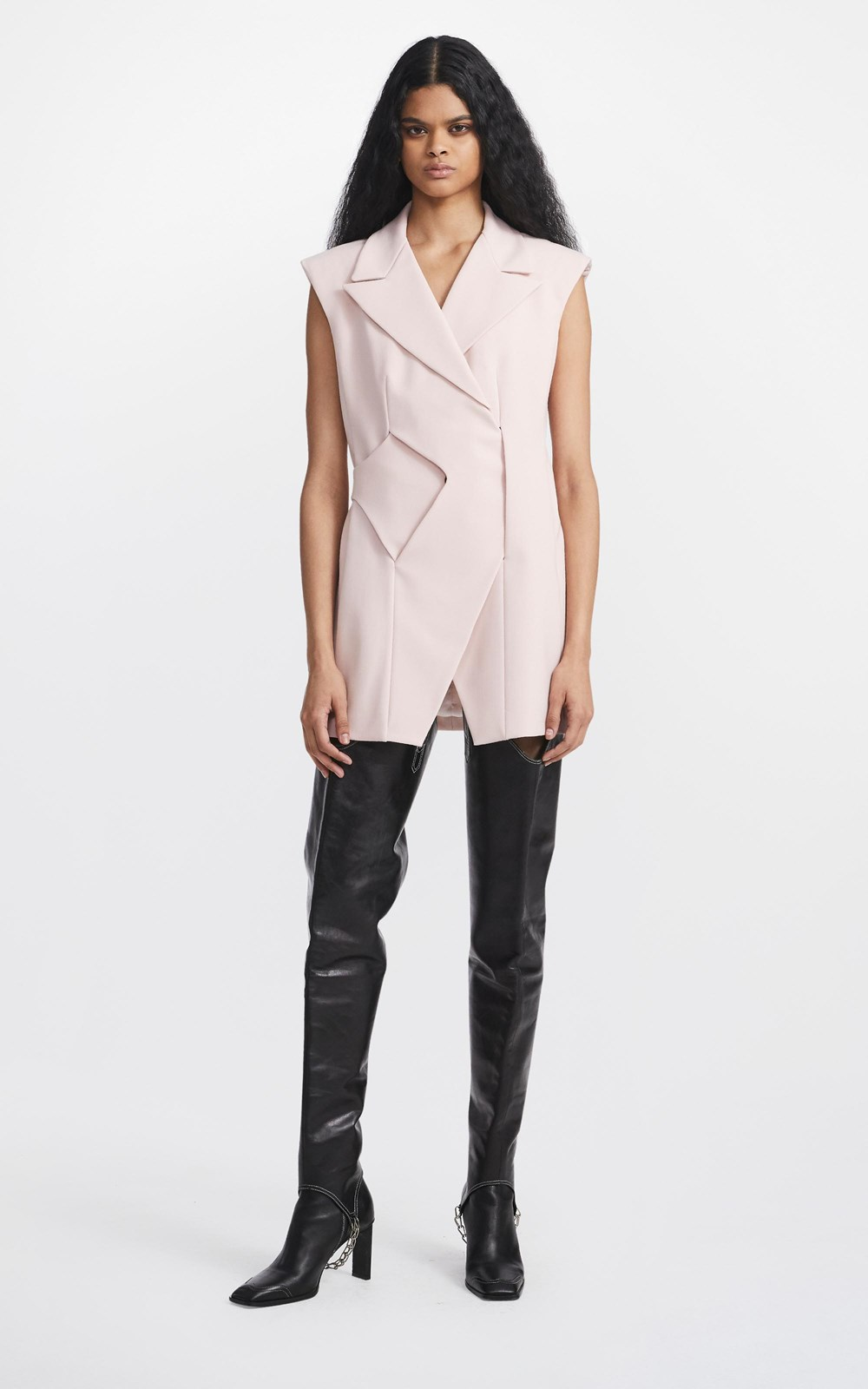 Dresses | INTERLOCK VEST DRESS