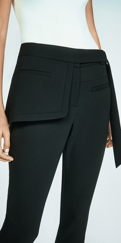Accessories  | Asymmetric Peplum Belt
