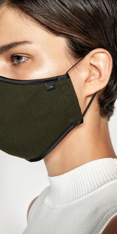 Accessories  | Cotton Pique Face Mask
