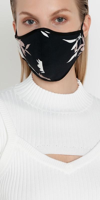 Accessories  | Dahlia Floral Face Mask